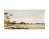Les Salinieres by Trouville, 1826 Giclee Print by Richard Parkes Bonington