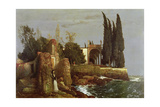 Villa by the Sea, 1878 Giclee Print by Arnold Bocklin