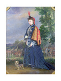 Hortense Schneider (1833-1920) in the Role of the Grand Duchess in 'La Grande Duchesse De… Giclee Print by Alexis Joseph Perignon