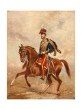 Lieutenant Colonel James Thomas Brudenell (1797-1868) 7th Earl of Cardigan, C.1854 Giclee Print by Alfred de Prades
