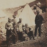 Officers of the 71st (Highland) Regiment of Foot (Light Infantry) from an Album of 52 Photographs… Photographic Print by Roger Fenton