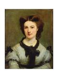 Madame Charles Garnier (1836-1919) 1864 Giclee Print by Paul Baudry