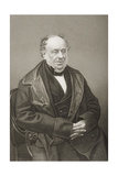 James Brownlow William Gascoigne-Cecil (1791-1868) 2nd Marquess of Salisbury, Engraved by D.J.… Giclee Print by John Jabez Edwin Paisley Mayall