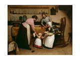 First Steps, 1888 Giclee Print by George Hall Neale