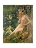 Water Nymph Giclee Print by Gaston Bussiere