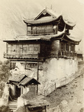 Rock Temple at Hifan Ting, Zhejiang Province, China, 1895 Papier Photo par Isabella Bird Bishop