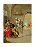 The Dance of Death Giclee Print by Frans II the Younger Francken