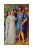 The Knight's Bridal Giclee Print by James Smetham