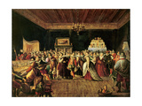 A Ball Giclee Print by Frans The Elder Francken