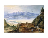 Mountain Landscape Giclee Print by  Joos de Momper and Jan Brueghel