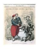 La Foire Aux Pains D'Epices, C.1860 Giclee Print by Alfred Grevin