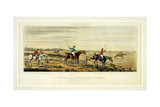 Symptoms of a Scurry, the Leicestershires, Engraved by Henry Alken (1785-1851) 1825 Giclee Print by John Dean Paul