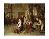 In the Church Giclee Print by Theodore Gerard