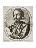 Giambattista Basile, Engraved by Nicolaus Perrey Giclee Print by Jacobus Pecini