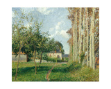 Varengeville, the Manor Inn, Afternoon, 1889 Giclee Print by Camille Pissarro
