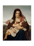 The Scarlet Letter, 1861 Giclee Print by Hugues Merle
