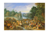 The Village Fair, after 1710 Giclee Print by Theobald Michau