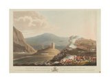 Battle of Castalla in Valencia, 13th April 1813, Engraved by Dubourg, 1814 Giclee Print by John Heaviside Clark
