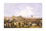 Lord Westminster's Cardinal Puff, with Sam Darling Up, Winning the Tradesman's Plate, Chester,… Giclee Print by William Tasker