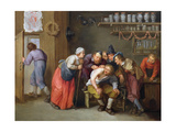 The Quack Doctor's Surgery Giclee Print by Adriaen Rombouts
