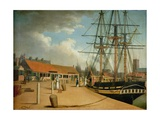 Westerdale's Yard and the Wellington from the New Dock, C.1820 Giclee Print by Robert Willoughby