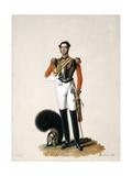 Lieutenant Thomas Myddleton Biddulph (1809-78) 1st Life Guards, 1833 Giclee Print by Alexandre-Jean Dubois Drahonet