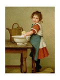 This Is the Way We Wash Our Clothes Giclee Print by George Dunlop Leslie