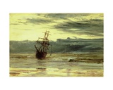 Dawn after a Storm Giclee Print by William Lionel Wyllie