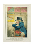 A Standing-Dish at Boodles, Published by Hannah Humphrey, 1800 Giclee Print by James Gillray
