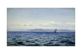 Light Breeze Off Dodman at Mevagissey, Cornwall, 1881 Giclee Print by Henry Moore