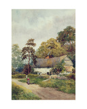 A Country Cottage Giclee Print by F.H. Tyndale