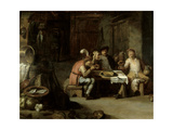 Interior of an Alehouse, C.1630s Giclee Print by David the Younger Teniers