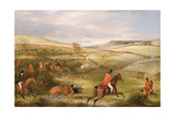 The Berkeley Hunt, 1842: the Chase Giclee Print by Francis Calcraft Turner