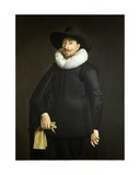 Portrait of Frans Van Limborch, 1632 Giclee Print by Thomas de Keyser