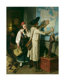 The Emigrants Giclee Print by Berthold Woltze