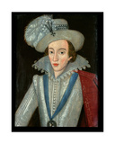 Henry Frederick (1594-1612) Prince of Wales Giclee Print by Robert Peake