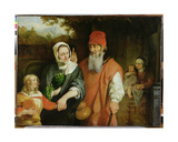 The Dismissal of Hagar, 1660s Giclee Print by Barent Fabritius
