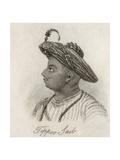 Tippoo-Saib Giclee Print by J.W. Cook