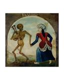 Death Leading a Pagan Woman Giclee Print