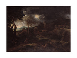The Storm Giclee Print by Gaspard Poussin Dughet