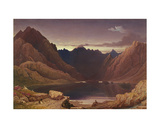 Loch Coruisk, Isle of Skye - Dawn, C.1826-32 Giclee Print by George Fennel Robson