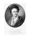 Medallion Portrait of Andre Charles Joseph Panckoucke (1736-98) Giclee Print by Nicolas Henri Jacob