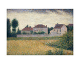 Maisons Blanches Giclee Print by Georges Seurat