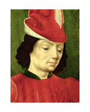 Portrait of a Young Man Giclee Print by  Master of Moulins