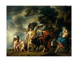 The Flight into Egypt, 1647 Giclee Print by Jacob Jordaens