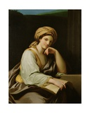 A Sibyl with a Book, after a Painting by Raphael Mengs (1728-79), C.1761 Giclee Print by Benjamin West