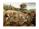 Eté Impression giclée par Pieter Brueghel the Younger
