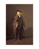 Portrait of John Moody (C.1712-1821) as Father Foigard in the Beaux Stratagem, by George Farquhar… Giclee Print by Johann Zoffany