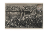 "Storming of Delhi, Engraved by T.H. Sherratt, Published by the London Printing and Publishing… Giclee Print by Matthew ""matt"" Somerville Morgan"
