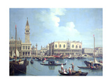 A View of the Grand Canal Giclee Print by Antonio Canaletto